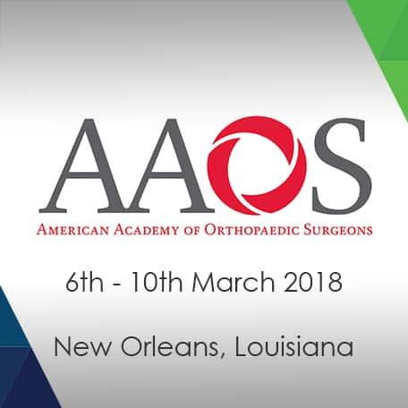 Aran Biomedical To Attend AAOS 2018 Aran Biomedical