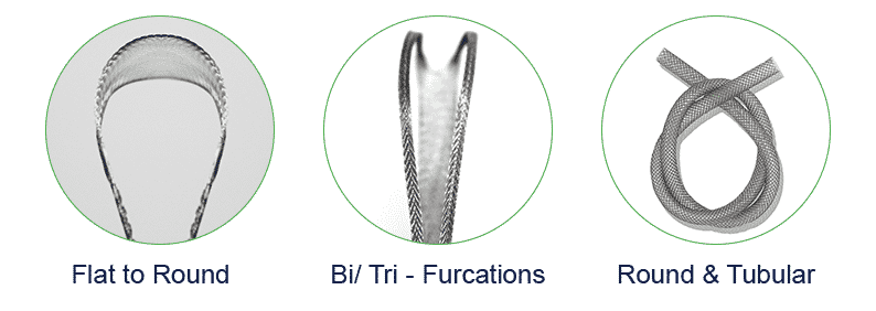 Braided Nitinol Structures