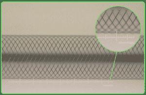 micro fine wire braiding