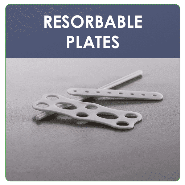 Custom design and development of high-strength resorbable plates