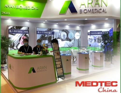 Aran Biomedical Exhibiting at Medtec China 2021