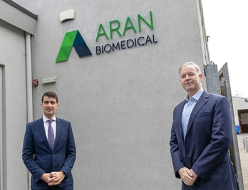 Aran Biomedical Welcomes Irish Minister of State to Their Facility